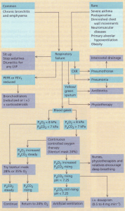 Algorithm for the treatment